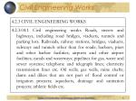 civil engineering works