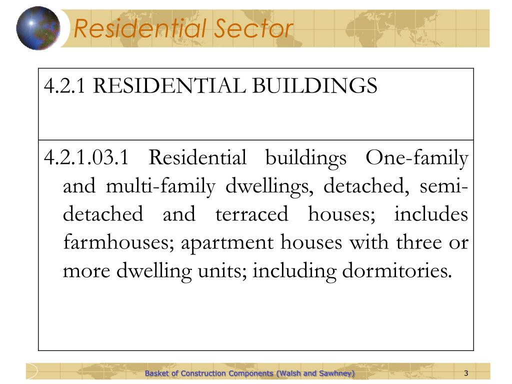 Residential Sector