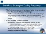 trends strategies during recovery