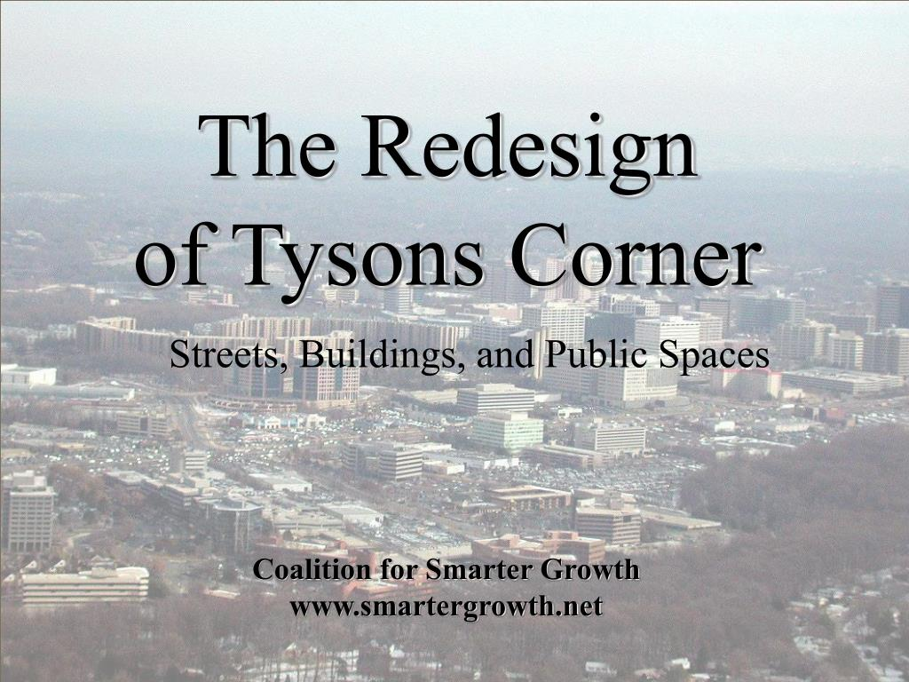 the redesign of tysons corner l.