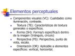 elementos perceptuales