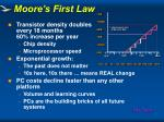 moore s first law