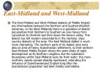 east midland and west midland