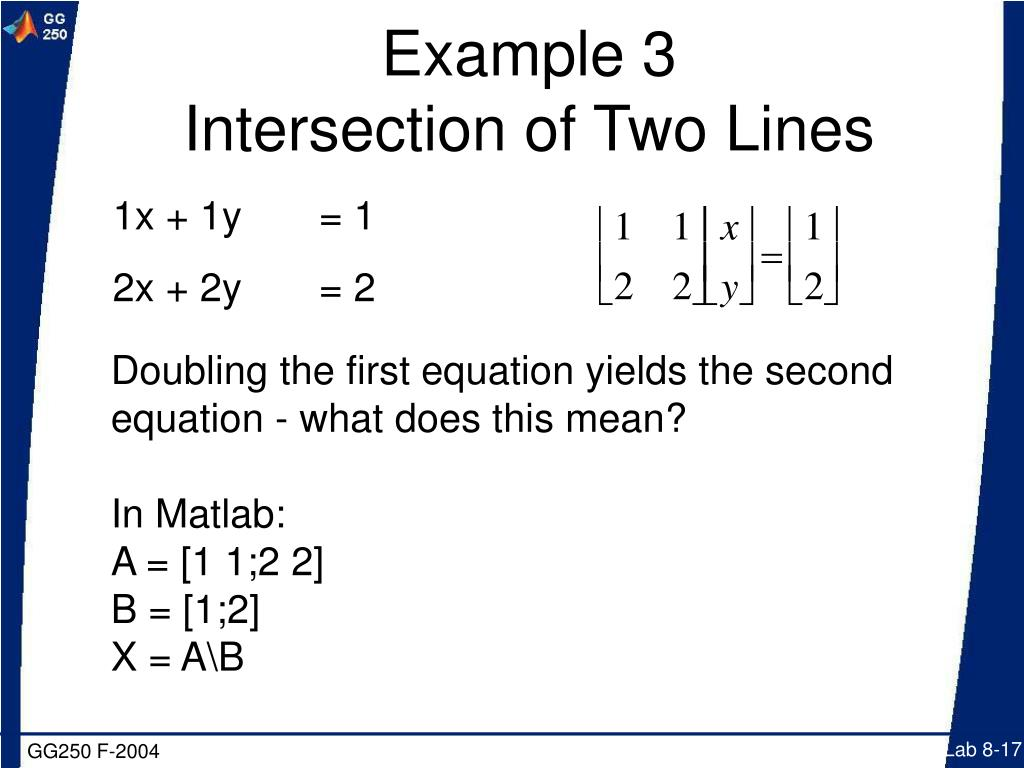 PPT - Solution of Simultaneous Linear Equations (AX=B) PowerPoint