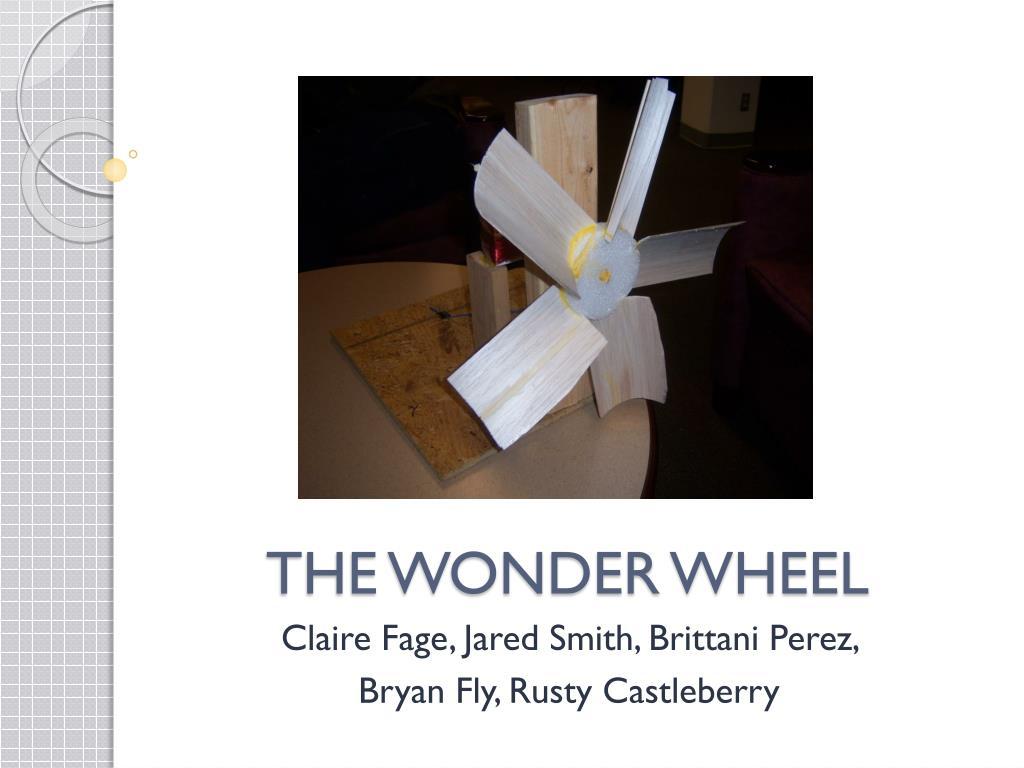 the wonder wheel l.