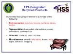 epa designated recycled products20