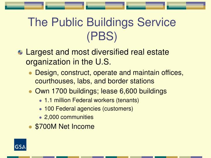 The public buildings service pbs