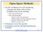 open space methods