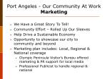 port angeles our community at work marketing
