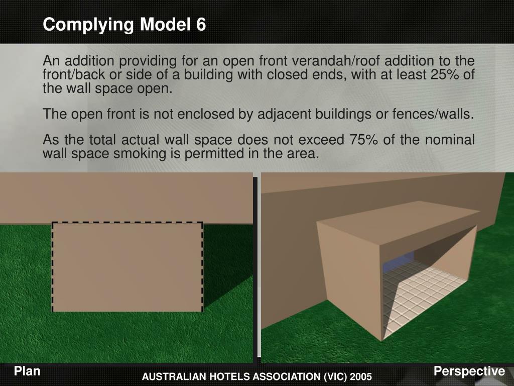 Complying Model 6