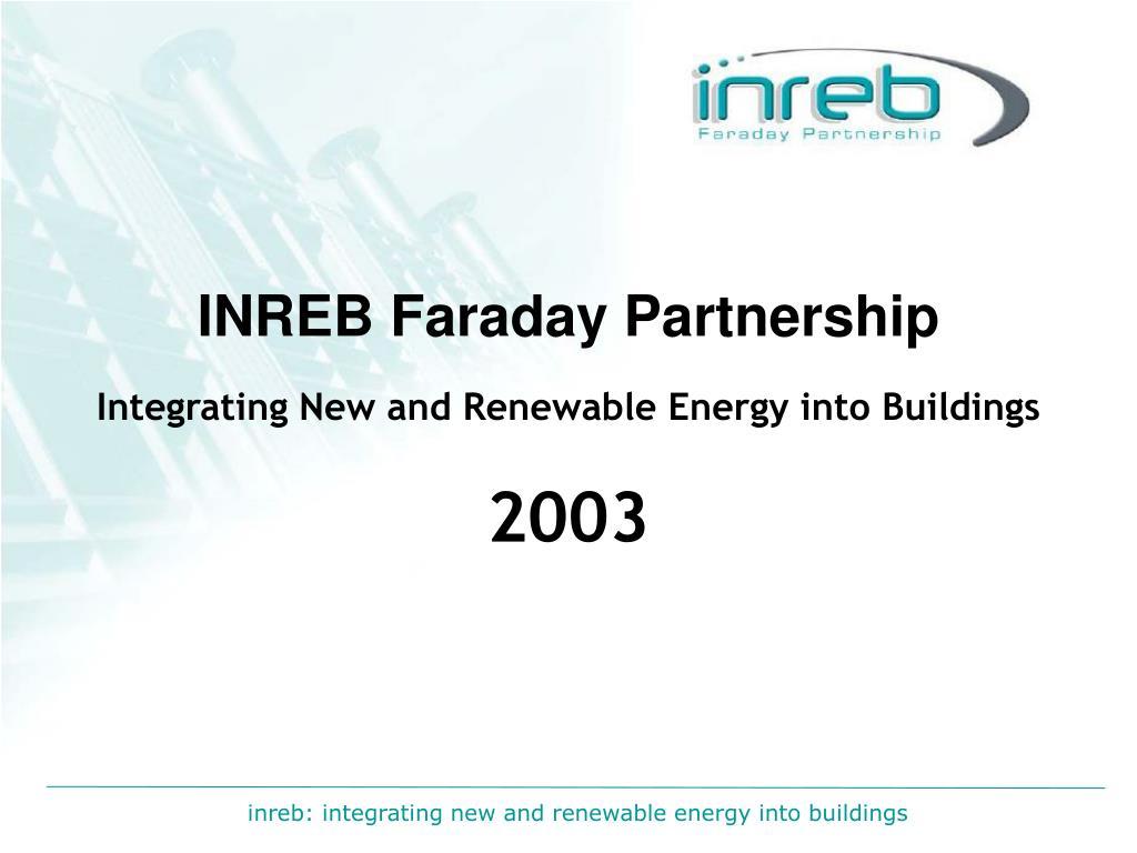 inreb faraday partnership l.