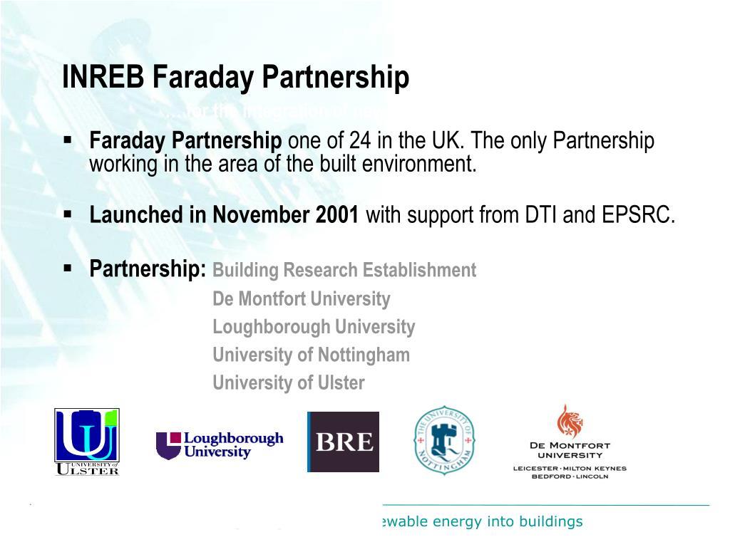 INREB Faraday Partnership