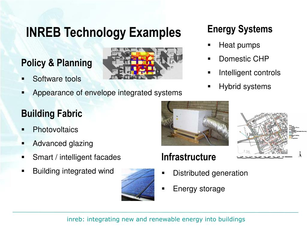 INREB Technology Examples
