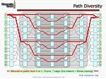 path diversity