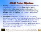atc 63 project objectives