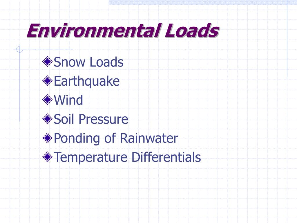 Environmental Loads
