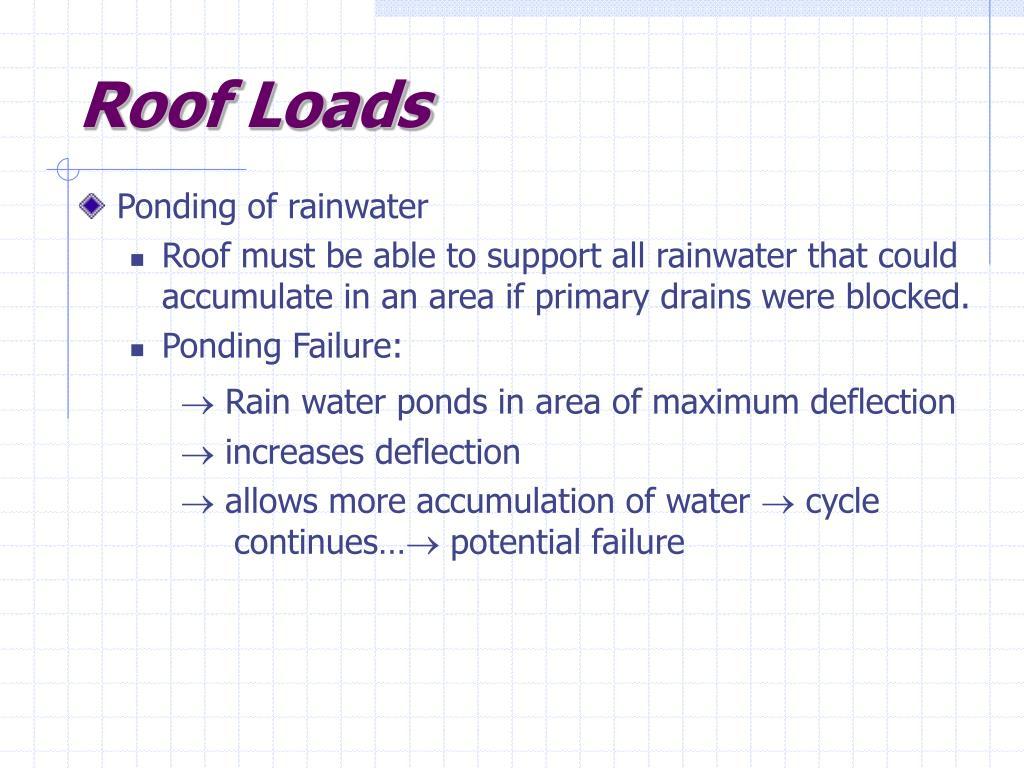 Roof Loads