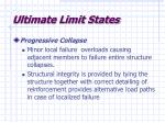 ultimate limit states11