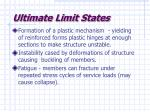 ultimate limit states12