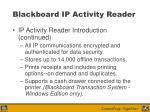 blackboard ip activity reader12