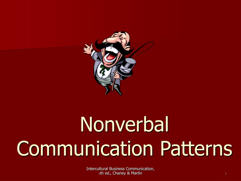 nonverbal communication patterns l.