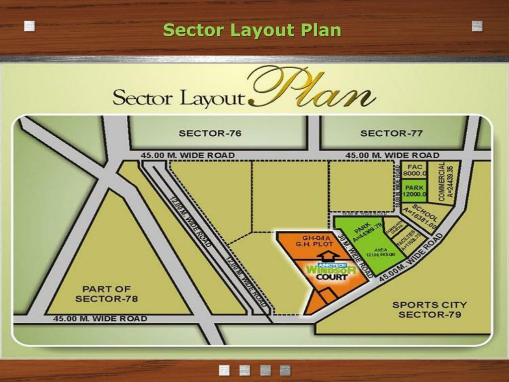 Sector Layout Plan