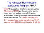 the arlington home buyers assistance program ahap