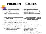 problem causes