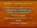 bimeo notifik lt szervezet