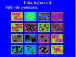 julia halmazok17