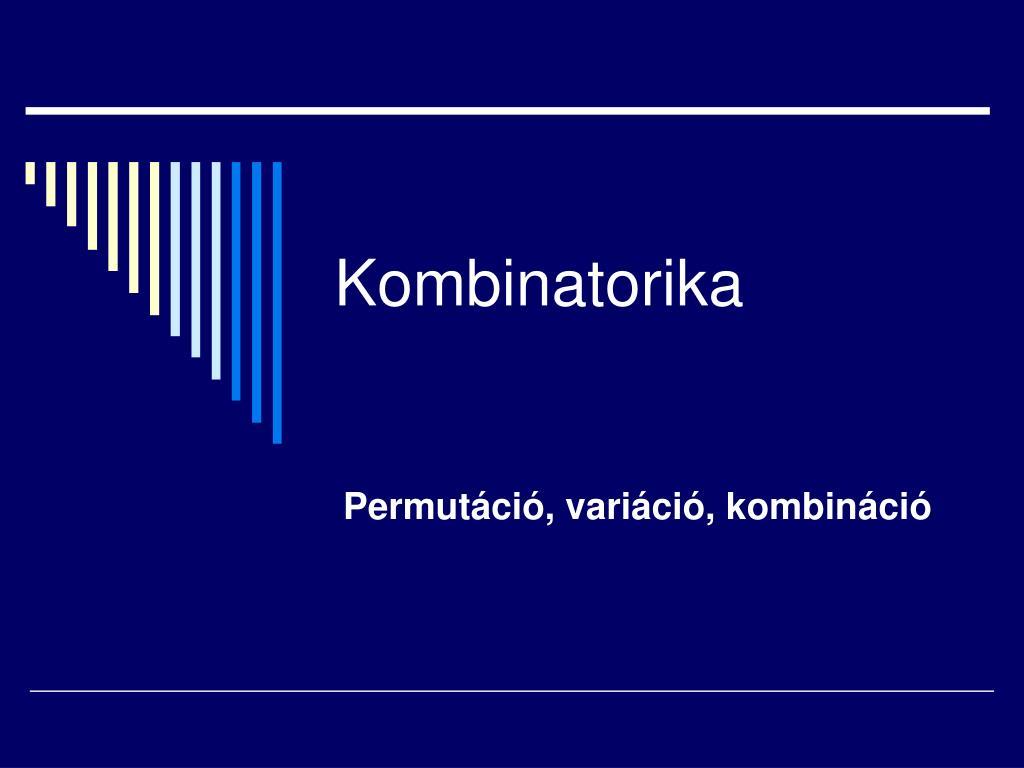 kombinatorika l.