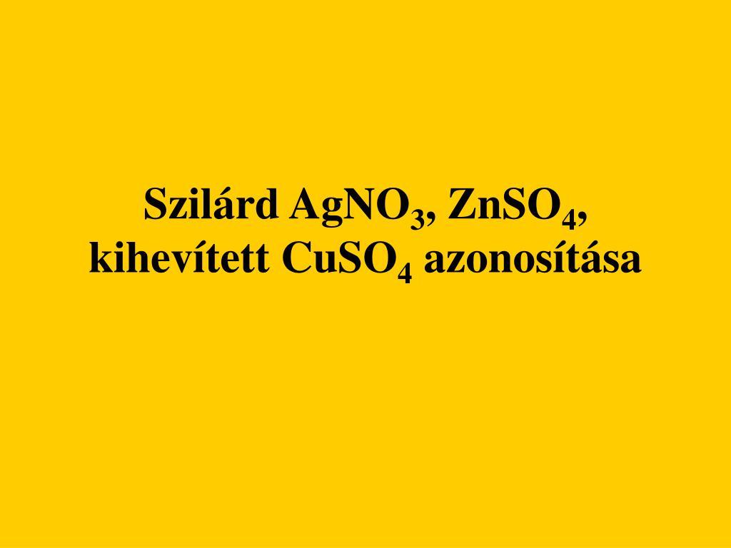 szil rd agno 3 znso 4 kihev tett cuso 4 azonos t sa l.