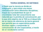 teoria general de sistemas21
