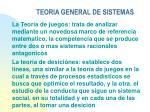 teoria general de sistemas30