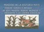 per odo de la historia maya