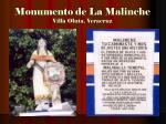 monumento de la malinche villa oluta veracruz
