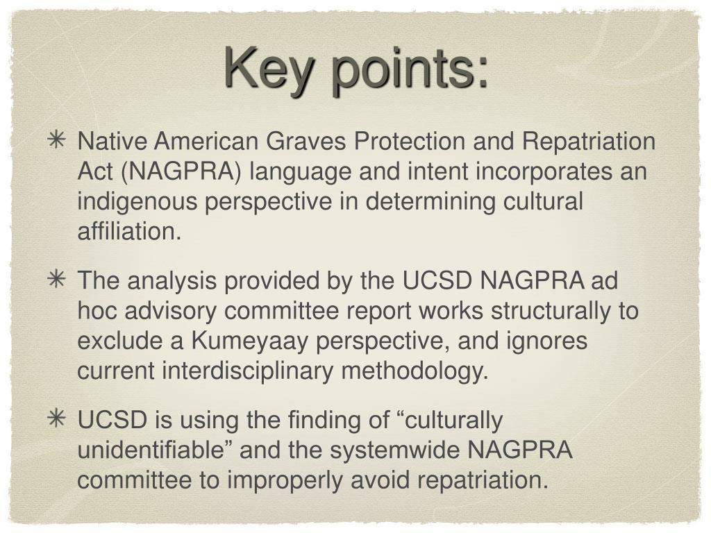 key points l.