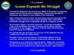 azzam expands the struggle