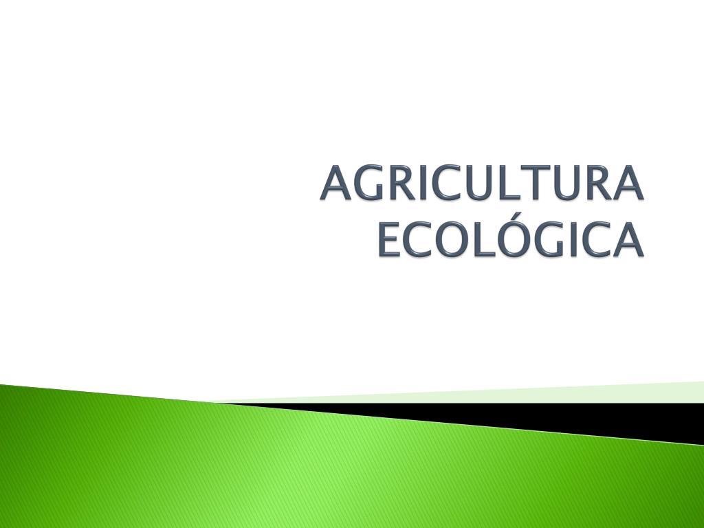 agricultura ecol gica l.