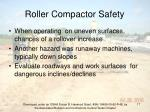 roller compactor safety17