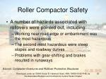 roller compactor safety20