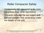 roller compactor safety21