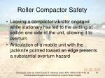 roller compactor safety40