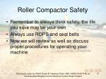 roller compactor safety41