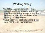 working safely102