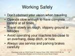 working safely91