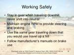 working safely92