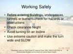 working safely94