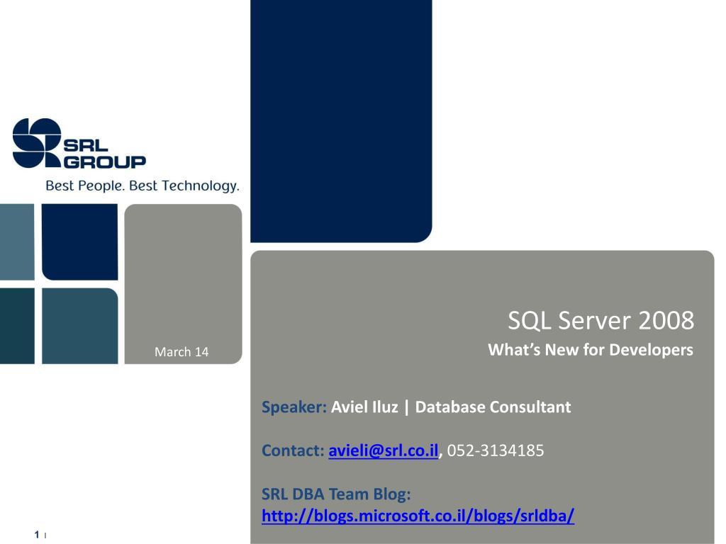 sql server 2008 l.