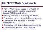 b 8 pdf417 meets requirements47